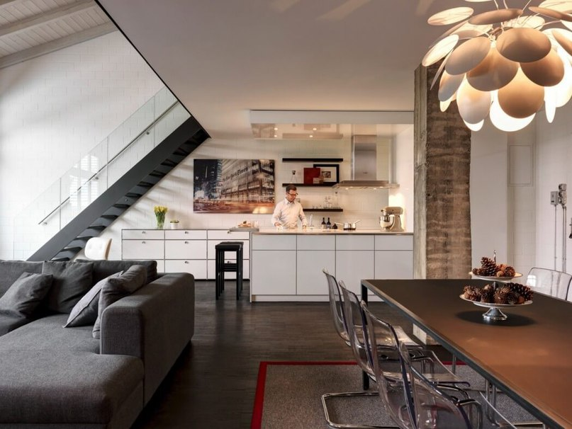 Industrial Apartment in Zurich Gets a Fresh,