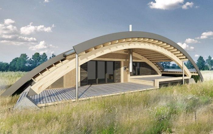 Московский архитектор представил проект загородного дома с