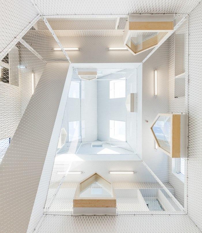 Архитектурное бюро COBE представили проект детского сада