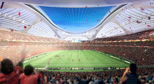 Zaha Hadid Architects создала проект Нового Национального