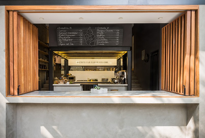 DCPP arquitectos adds a café to distrito