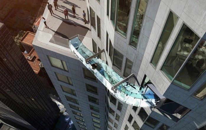 В мегаполисах очень любят делать смотровые площадки