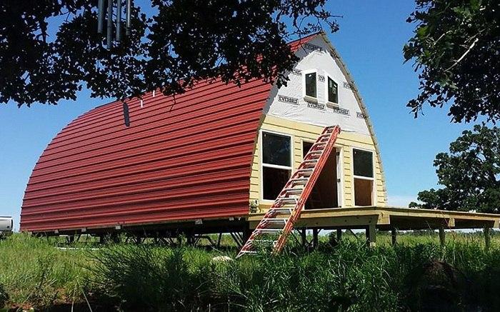 Арочный дом — доступное жилье стоимостью от