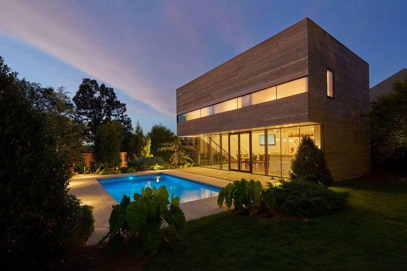 Дом с бассейном (Srygley Pool House) в