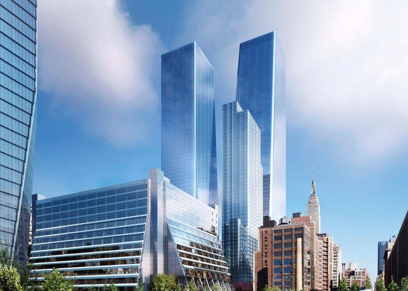 SOM reveals new images of Manhattan West