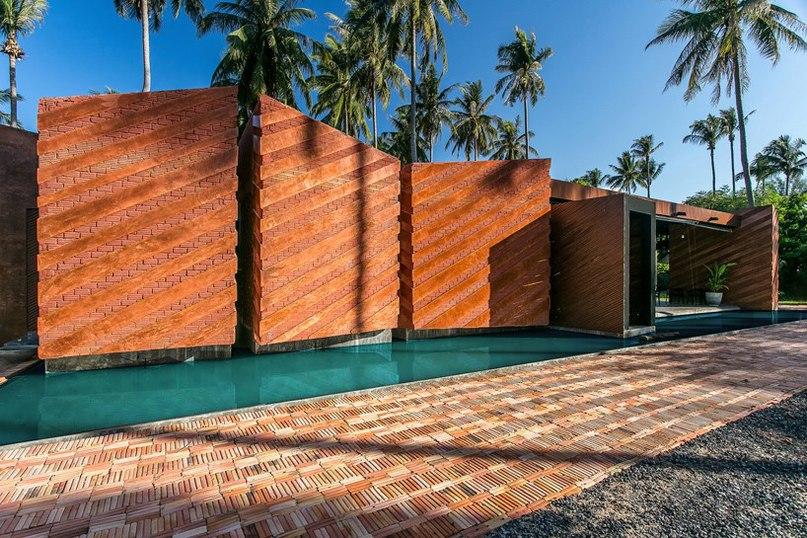 NPDA studio разработало современный дизайн дома для