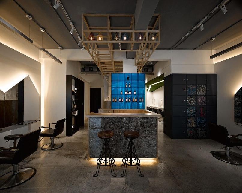 В центре Тайбэя расположен небольшой салон, который