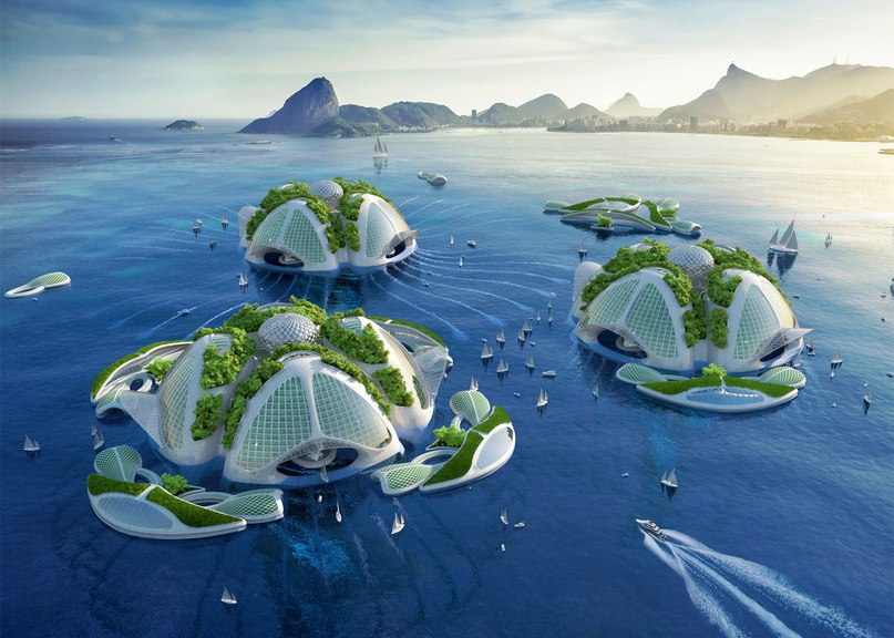 Часть 1. Будущее - за городами на
