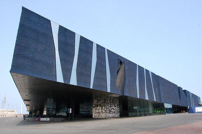Конференц-центр «Форум» в Барселоне, Испания.