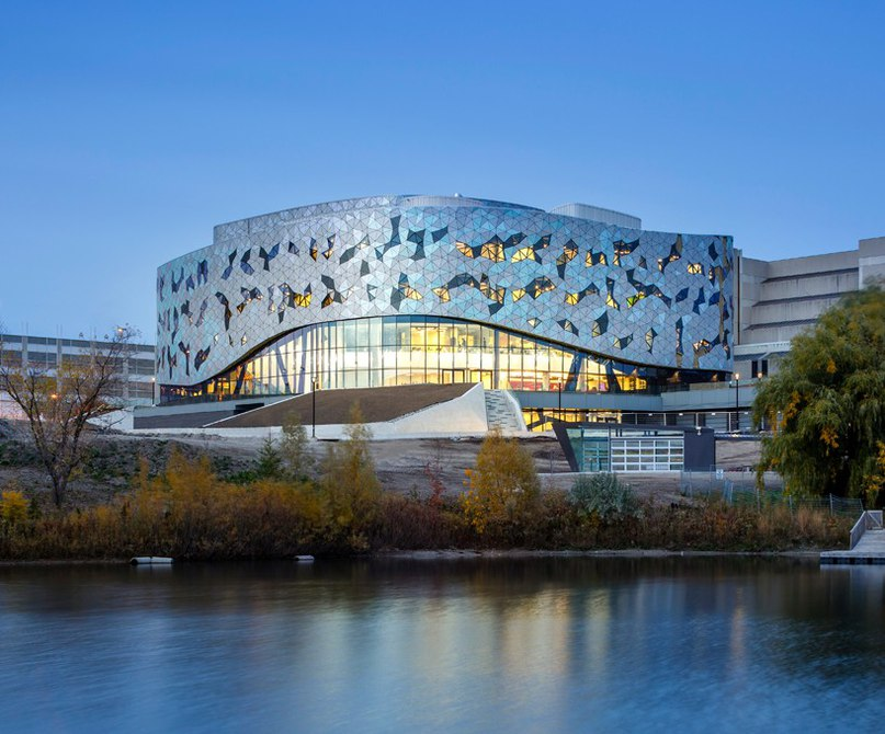 ZAS clads engineering campus at york university