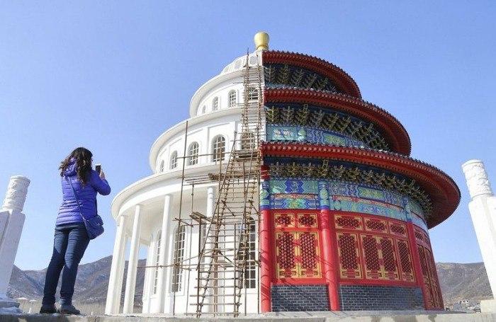 В китайском городе Шицзячжуан (Shijiazhuang), который расположен
