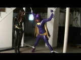 Catwoman Batgirl domination continued