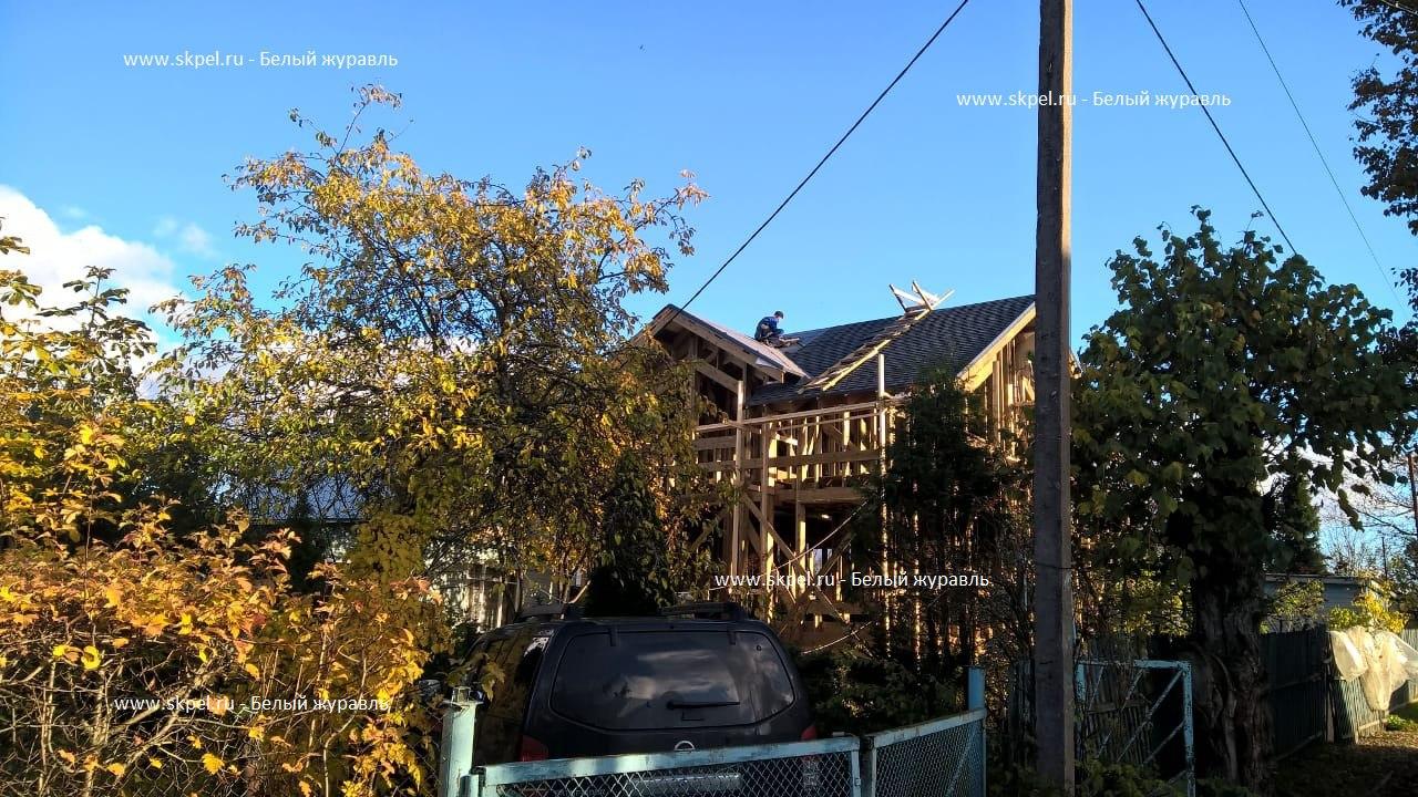 Каркасный дом в Красной нити