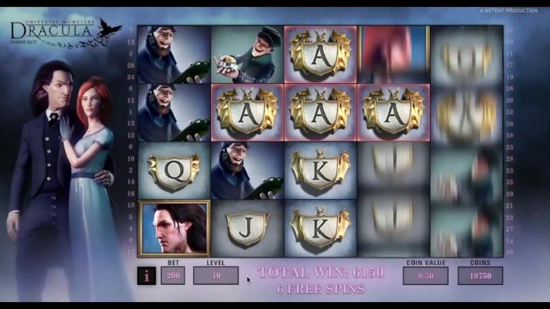 слот Дракула в casino-x