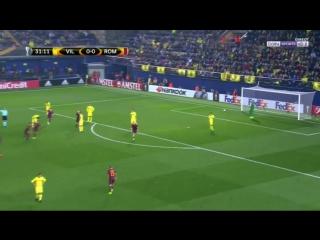 Вильярреал 0:1 Рома. Гол Эмерсона