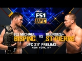 UFC 217 Средний вес Майкл Биспинг — Джордж Сент-Пьер
