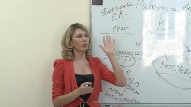 Новикова Елена - Работа с возражениями (часть 1)