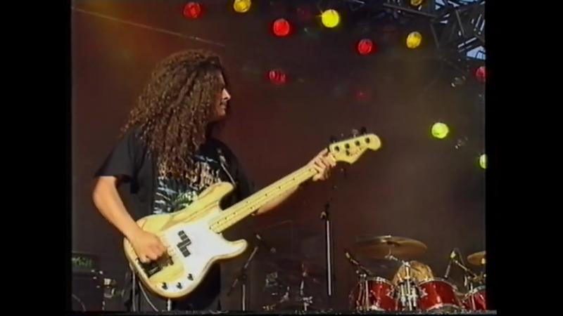 Sepultura - Desperate Cry (Live HD Finland 91 )