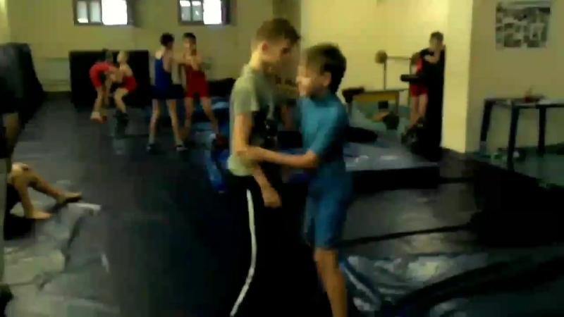 Часть тренировки. 21школа- греко-римская борьба.