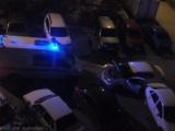Таксист не пропустил скорую помощь во дворе в Волжском