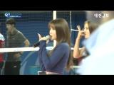 2016청주·KOVO컵 프로배구대회 홍진영 공연