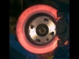 Shit happens  Brake disk test