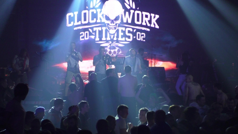 Clockwork Times (CWT) - Знаешь ли ты (МакSим) (03.09.2017, С-Петербург, Aurora Concert Hall) HD