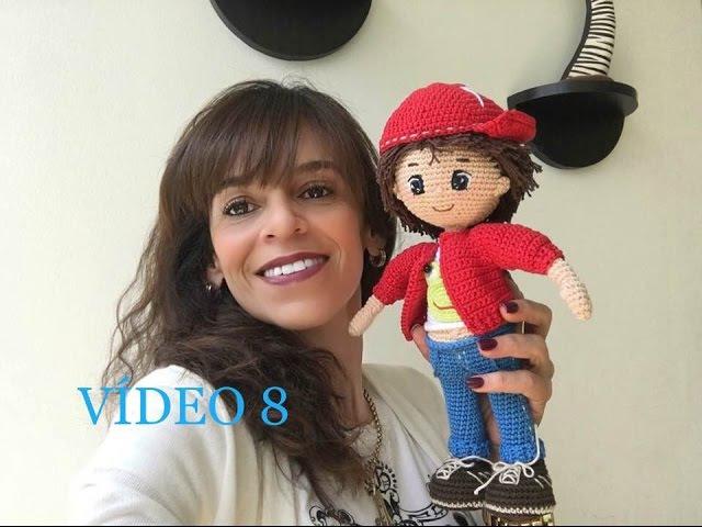 Como tejer Gorra en crochet muñeco Mauricio amigurumi By Petus OCTAVA Y ÚLTIMA PARTE