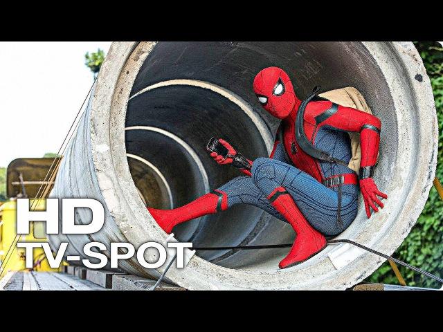Человек-паук: Возвращение домой — TV-Ролик 1 В КИНО С 6 ИЮЛЯ (2017) [HD] | Кино Трейлеры