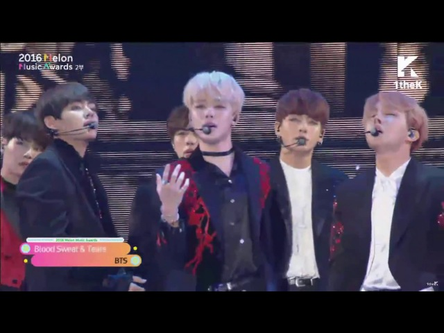 Blood Sweat Tears Fire - BTS @ 2016 MMA