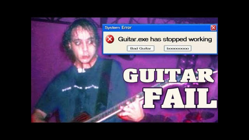 System Of A Down - Guitar Fail Not Working