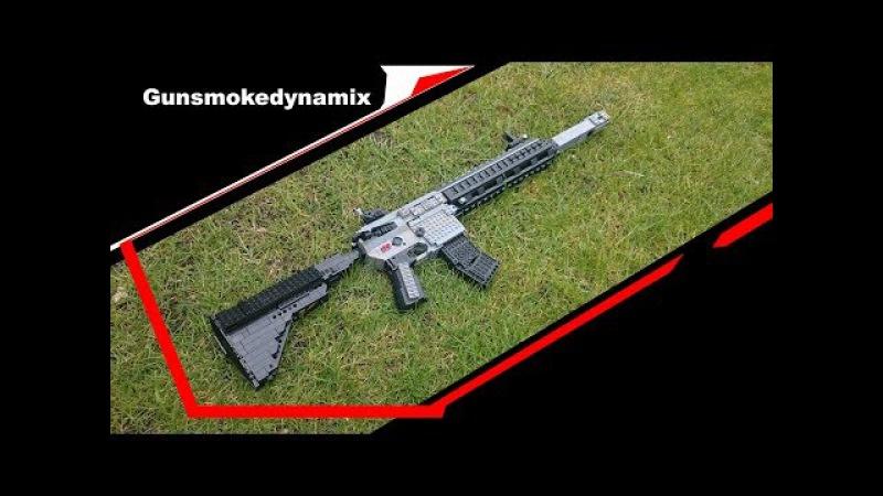 Working lego m27 assault rifle