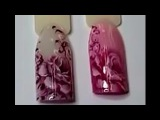 НОВЫЙ ДИЗАЙН. ПРЕВОСХОДНЫЕ цветы на ногтях.Мастер-класс Юлии Билей/Julia Biley/Nail Art/Gel...