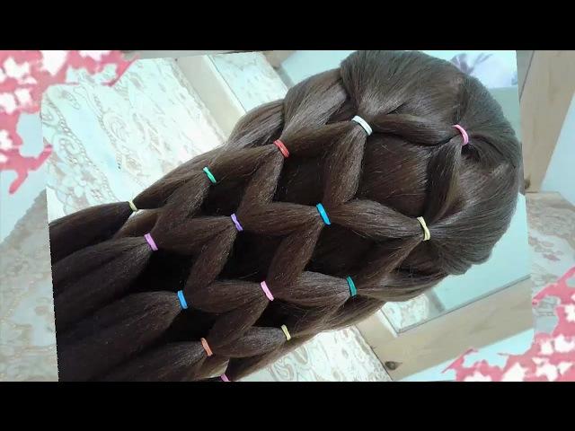 Peinados recogidos faciles para cabello largo bonitos y rapidos con trenzas para niña para fiestas76
