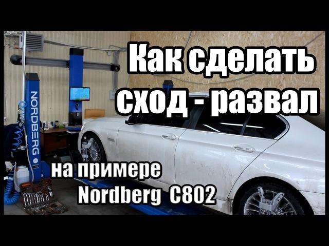 Стенд сход-развал 3D NORDBERG C802