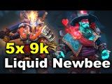 Liquid vs Newbee - 5x 9k MMR Game - DAC 2017 DOTA 2
