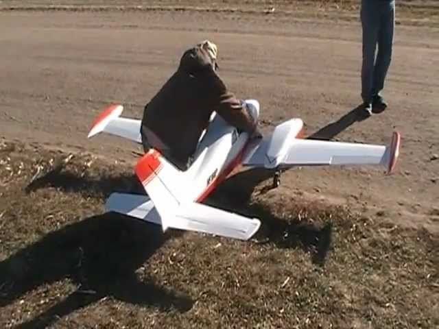 RC Bud Nosen Cessna 310 with deadstick landing. Crazy pilot. Must see.