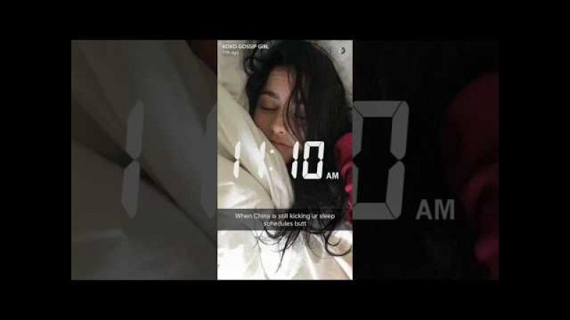 XOXO GOSSIP GIRL (Amy Cimorelli) snapchat day 5/19/17