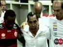 Zinho é Só Emoção Na Preleção do Jogo Contra o São Paulo