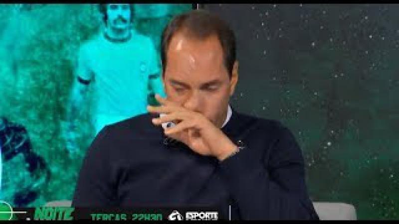 Edmundo chora ao falar sobre processo político do Vasco.