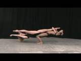 Super flexible girls/amazing contortion girls balancing