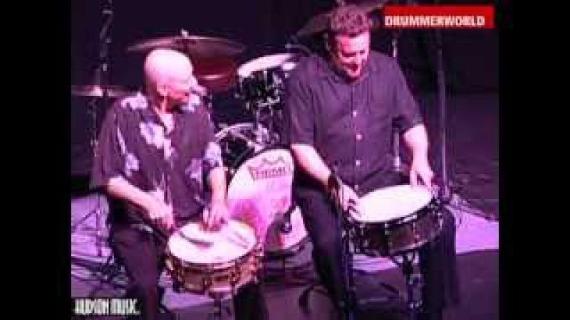 Jeff Hamilton - Steve Smith: Brush Duet: Salt Peanuts