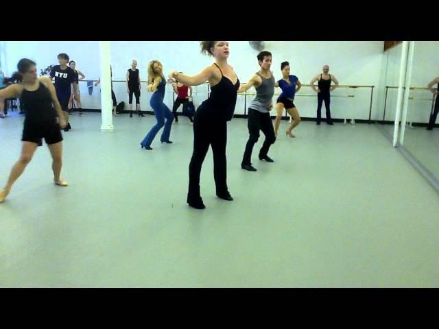 Richard Pierlons theater dance class @ Steps on Broadway