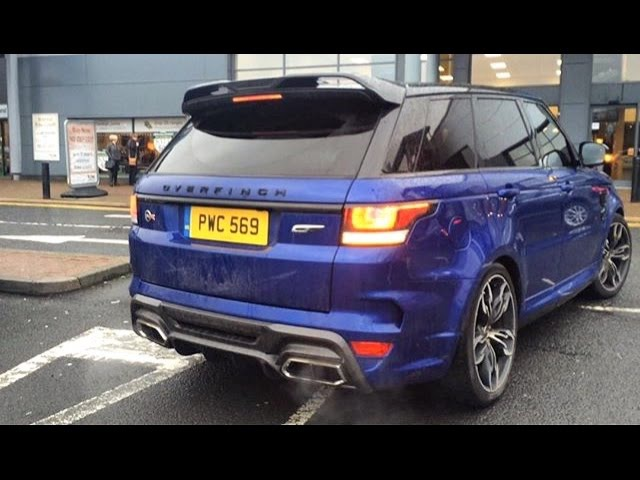 The Overfinch SVR is loud!...