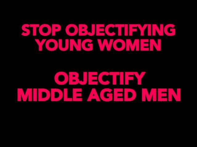 Что получится, если заменить в рекламе молодых девушек на мужчин средних лет? А вот что!