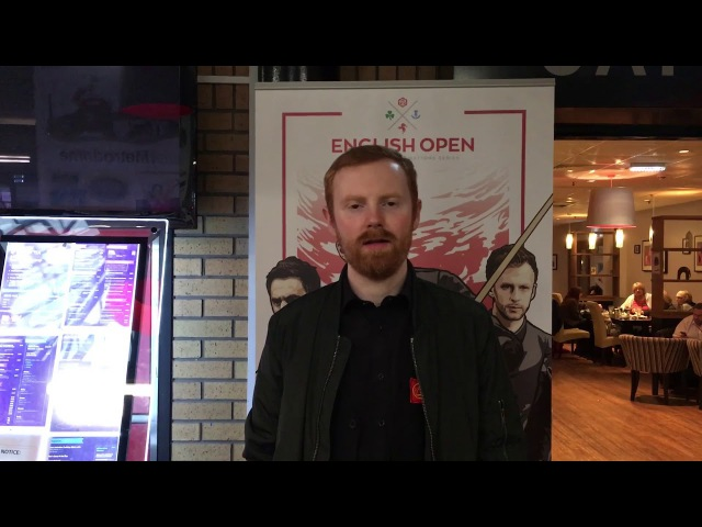 Interview with Anthony McGill after his victory over Akani songsersawad | Dafabet English Open