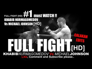 Khabib Nurmagomedov Vs Michael Johnson Full Fight UFC 205 [HD]