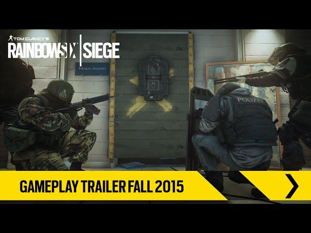 Tom Clancy's Rainbow Six Siege – Gameplay Trailer Fall 2015 [EUROPE]