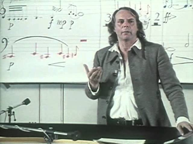 Lecture 7 [Part 1/3] Karlheinz Stockhausen - MANTRA (1973) British Lectures