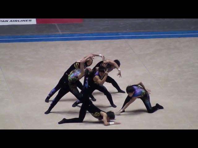 【Istoria~Kalliope~ ヒュメン】日本の男子高校生が世界を魅了した新体操の演技【312